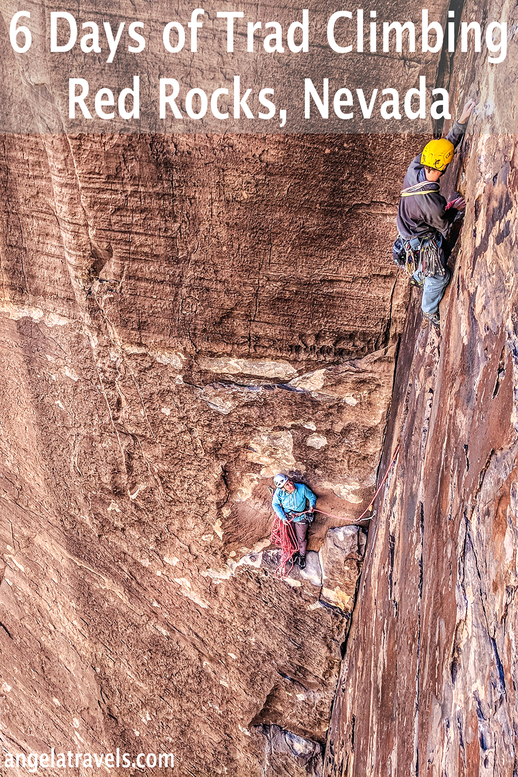 6 Days of Trad Climbing in Red Rocks, Nevada