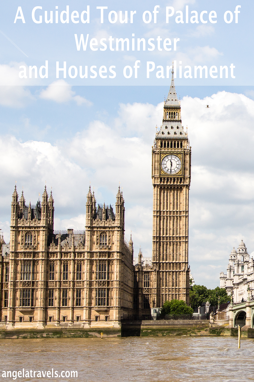 A Guided Tour of Palace of Westminster and Houses of Parliament