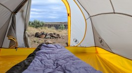 Tent camping at Vantage - Angela Travels | May 2018 Travel and Blogging Newsletter
