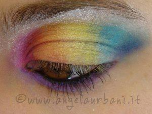Multicolor Rainbow by *AngyMakeUp* http://www.angelaurbani.it/multicolor_rainbow.asp