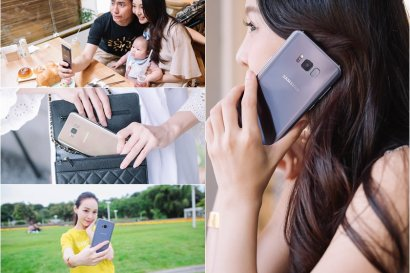 【3C】Samsung Galaxy S8+薰紫灰 ♥我的貼身愛用機