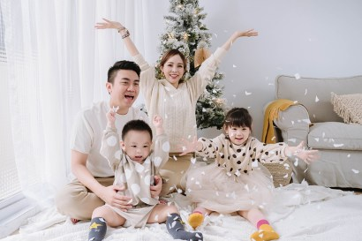 【家庭寫真】CJPAPA聖誕攝影~Merry Christmas!留下今年最溫暖的回憶
