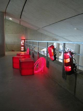 lumière rouge, récup. le 106 au Zénith 2007