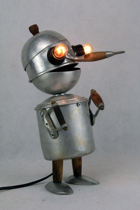 Cassero. Sculpture assemblage aluminium et bois. Assemblage.