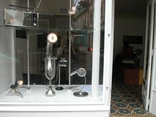 vitrine de la galerie S1livre Villerville