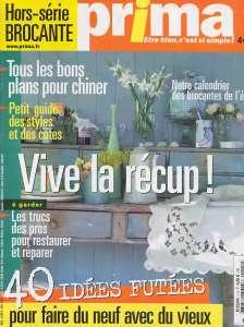 article Prima 2004, couverture hors série brocante