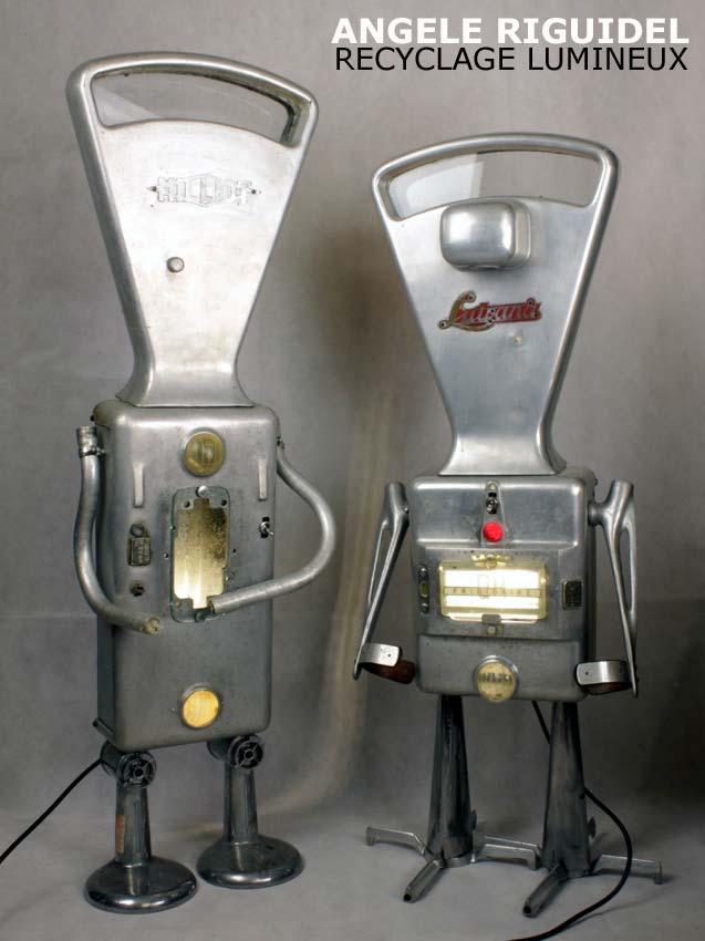 Robot balance en fonte d'aluminium