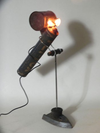 Sculpture lumineuse libellule FLY-TOX.