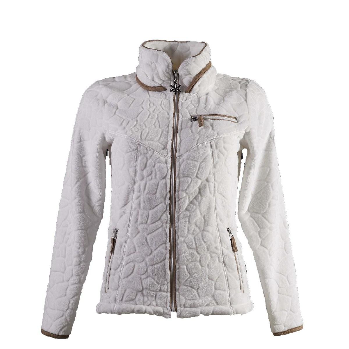 veste femme polaire INNSBRUCK blanc f