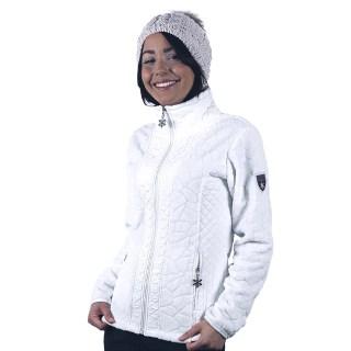 vêtement polaire femme vienne blanc angele-sportswear
