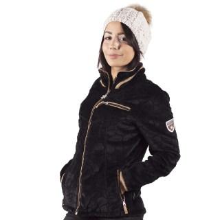 veste polaire femme innsbruck noir angele sportswear