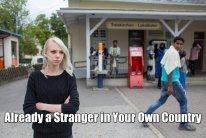 stranger in own country