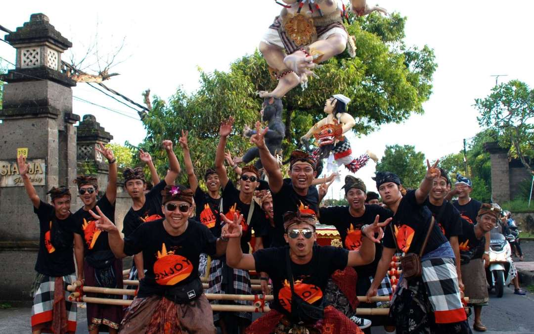 'Nyepi'; Balinese day of silence.