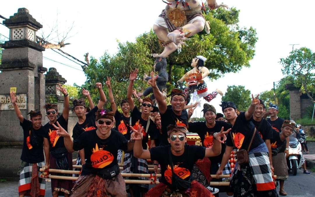 'Nyepi'; Balinese day of silence.