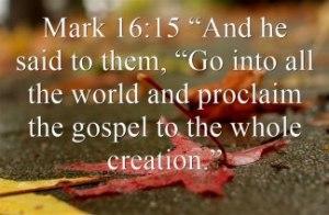 share the gospel