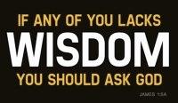 wisdom from God