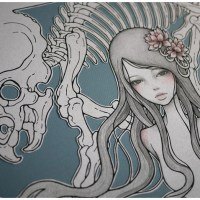 Inspiration of the Week: Audrey Kawasaki's Paper Cutout