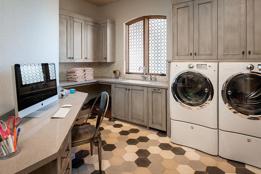 Rustic Revelation - Laundry Room - Angelica Henry Design