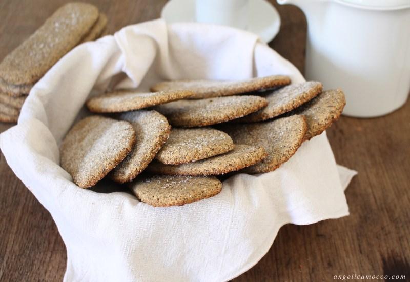 Gallettinas, i biscotti sardi da inzuppo senza glutine