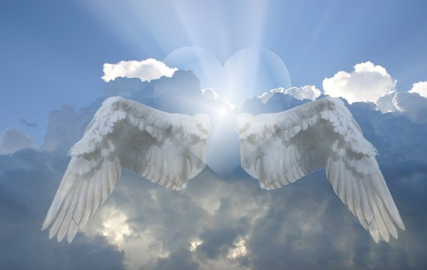 sky angel wings