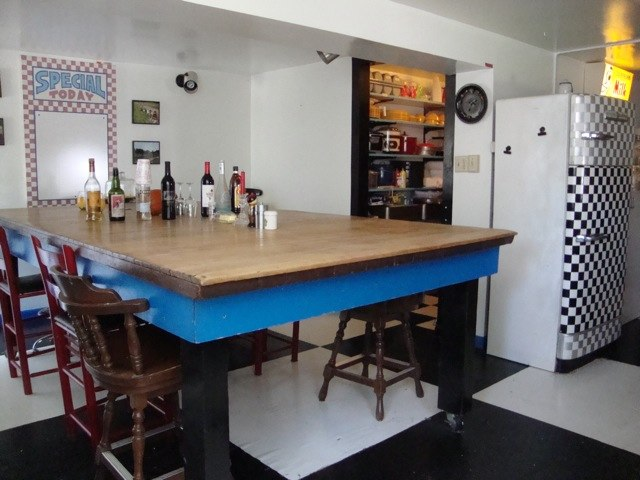 Barn Kitchen, Table can seat 18