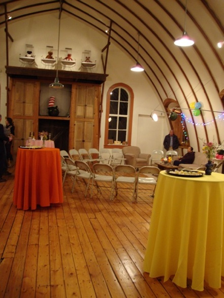 Mid-Spring, 2012, ready for the Community Loft Re-Inauguration (1st Inauguration, 1981)