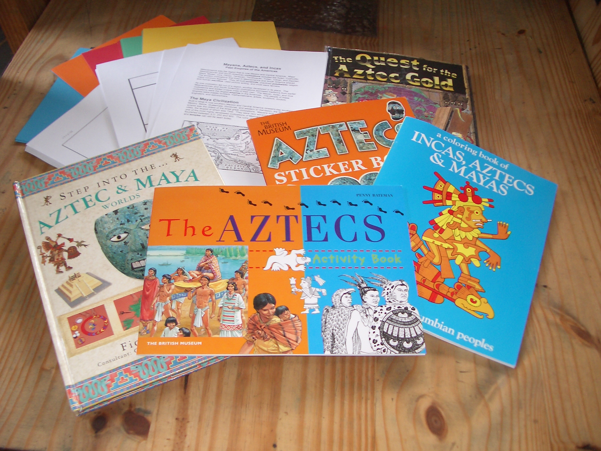 Resources For Studying The Mayans Incas And Aztecs
