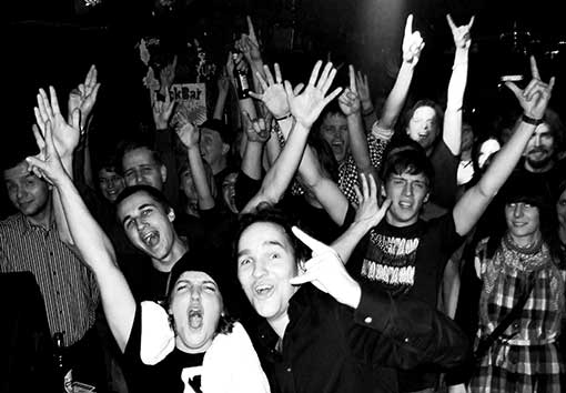 Das Publikum von Angelika Express im Magnet Club, Berlin