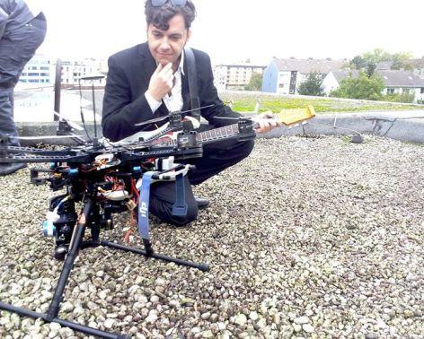 Faszinierend so eine kleine Drohne.