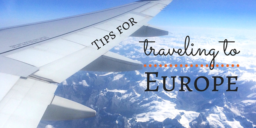 tips for europe