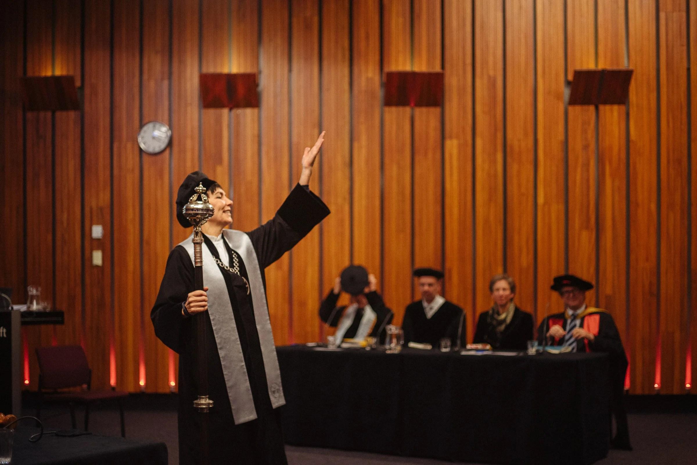 Inauguratie van een Doctor TU Delft