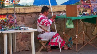 local Huichol Indian