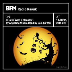 Promo for the Halloween special on BFM Radio. My first ever story on air!