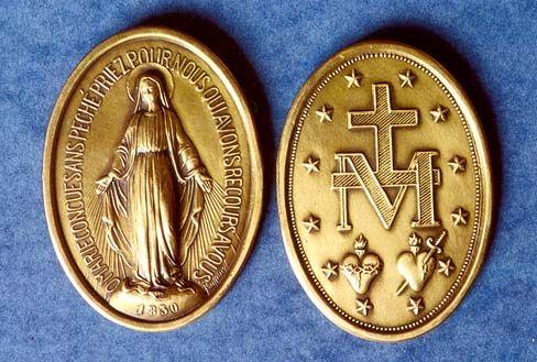 Imagini pentru medalia SFÂNTA MARIA MIRACULOASĂ photos