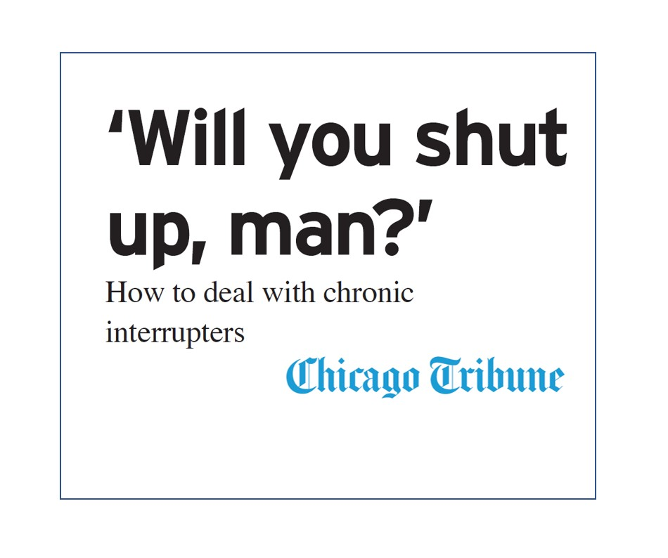 Dealing with Interrupters