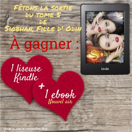 concours gagner une liseuse kinlde
