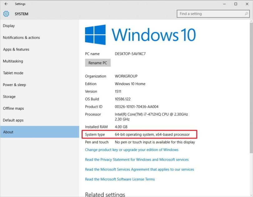 how to install windows 10 64 bit on 32 bit operating system