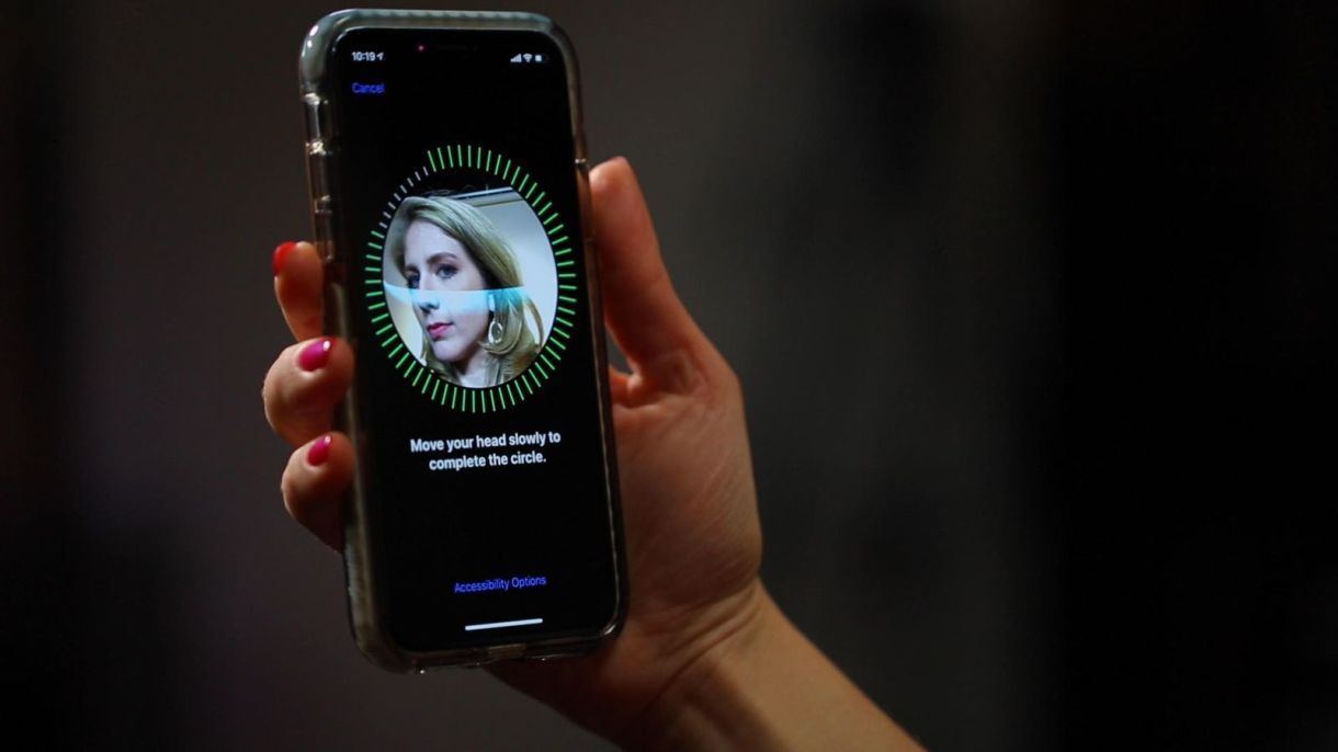 face id on your iphone