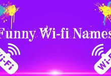 Photo of Funny Wifi Names for Hotspot 2020