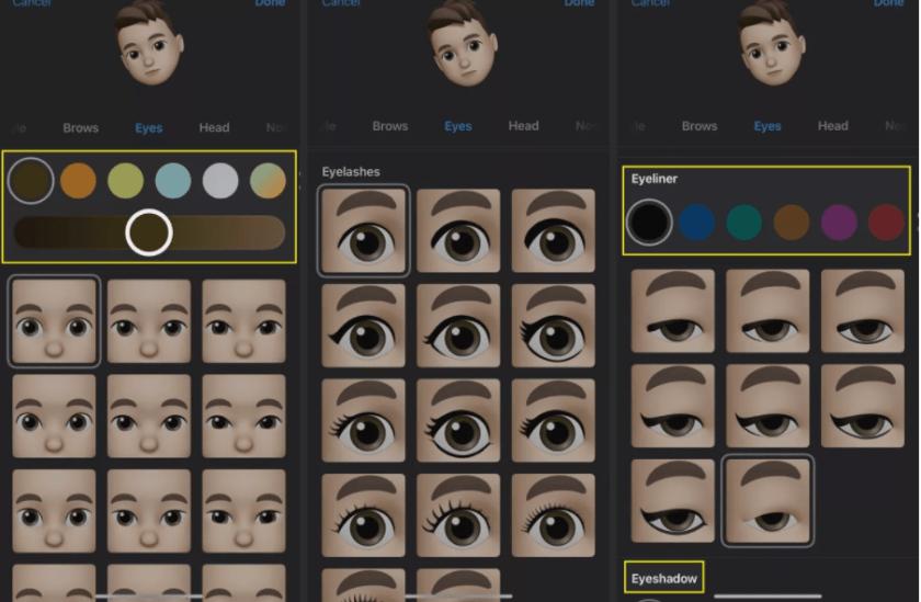 how-to-customize-your-iphones-memoji-customize eye