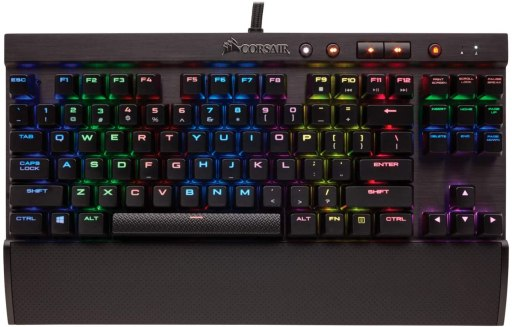 best-keyboards-for-small-hands- Corsair-K65-LUX-RGB-Compact-Mechanical-Keyboard