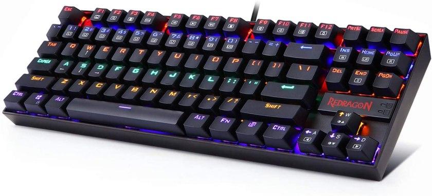 best-keyboards-for-small-hands-Reddragon-K522-KUMARA-Mechanical-Keyboard