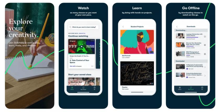 best-apps-for-learning-digital-skills-for-students-for-free-skillshare