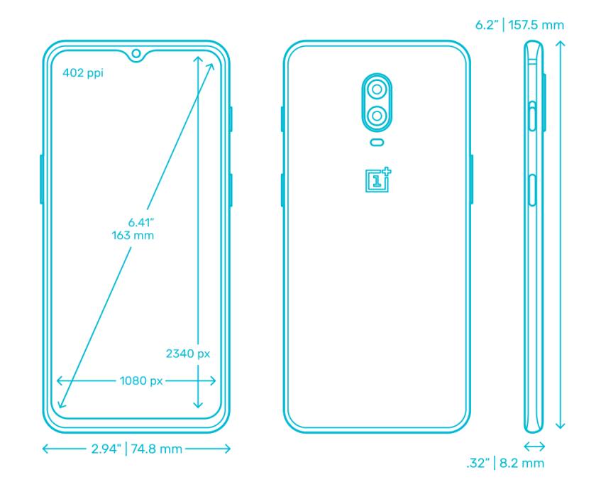 google-pixel-3a-vs-oneplus-6t-design