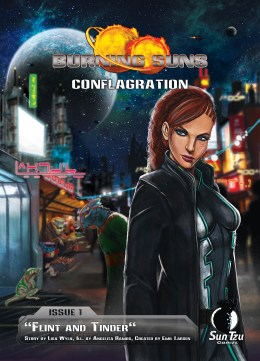 Burning Suns - Conflagration Issue 1 - Cover