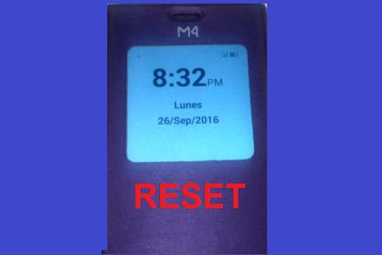 M4 reset