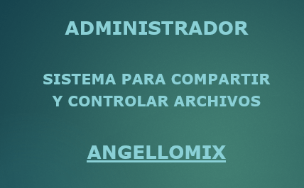 Administrador by Angellomix