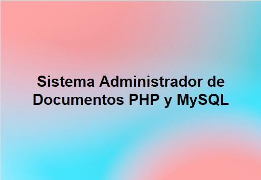 sistema administrador