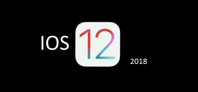 Nuevo IOS 12 lo mas actual en Iphone 2018