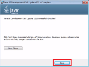 java class 1 JDK Install sdk finish
